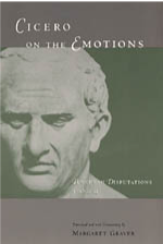 Cover of Cicero on the Emotions